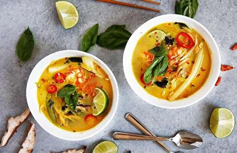 دستور پخت سوپ کاری سبزیجات