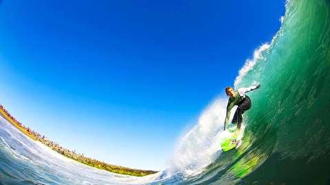 موج سواری در ساموآی آمریکا