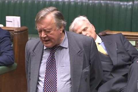 خواب نماینده پارلمان انگلیس در مجلس