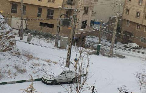 برف تهران در کمبارشترین زمستان نیمقرن