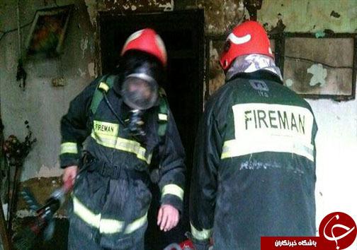 آتشسوزی مرگبار منزل مسکونی در بهشهر