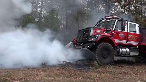 ماشین آتش نشانی پیشرفته