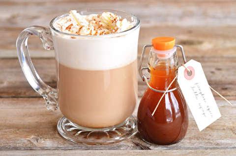شربت کدوتنبل برای قهوه