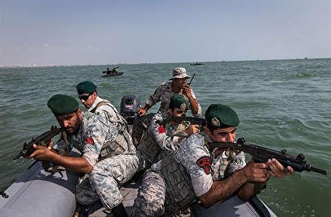جزئیات حضور تکاوران ایران در سانچی