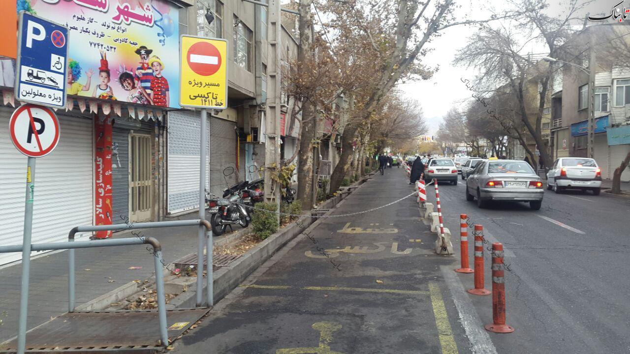 اقدام عجیب رانندگان خطی در تهران