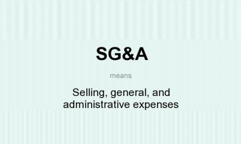 هزینه های عمومی و اداری فروش چیست؟