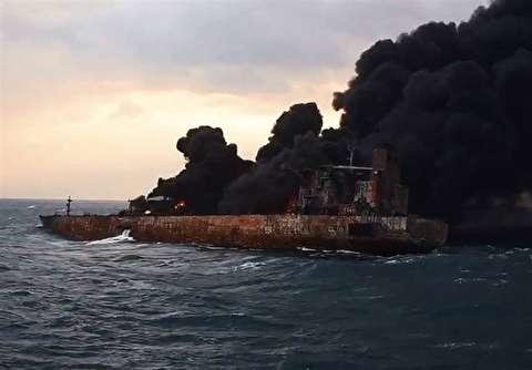 تیم امداد و نجات چینی در کشتی سانچی