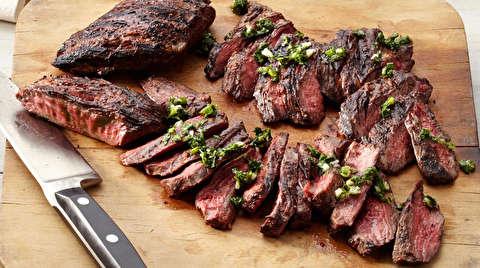 طرز تهیه استیک گوشت قلوه گاه