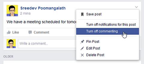غیرفعال کردن اطلاعرسانی پیام در فیسبوک