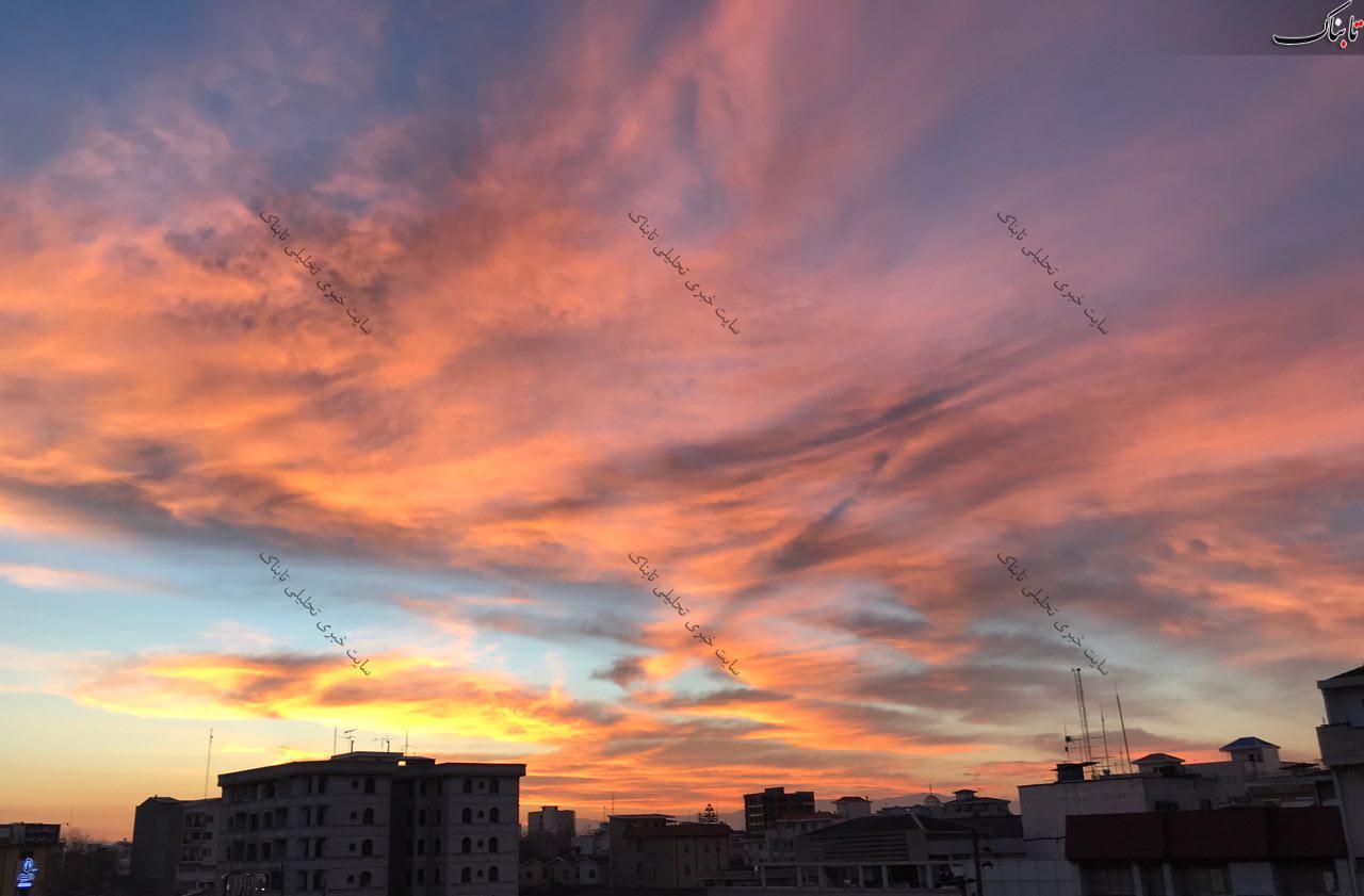 آسمان صبح بابل