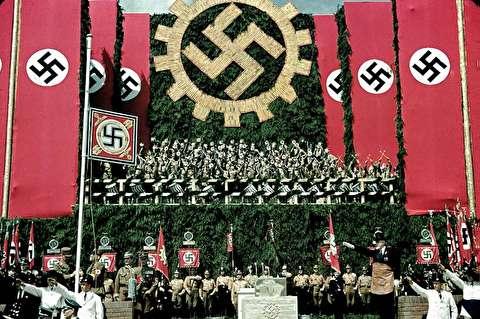تصاویر نادر رنگی از اوج قدرت آلمان نازی