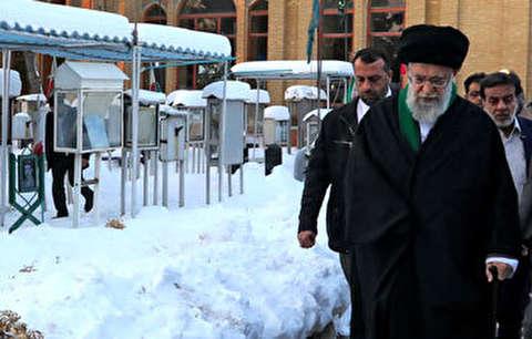 حضور رهبر انقلاب در مرقد امام خمینی
