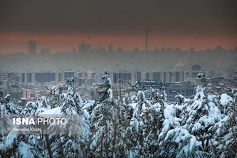 افزایش شدت وارونگی دما و آلایندهها پس از بارش برف