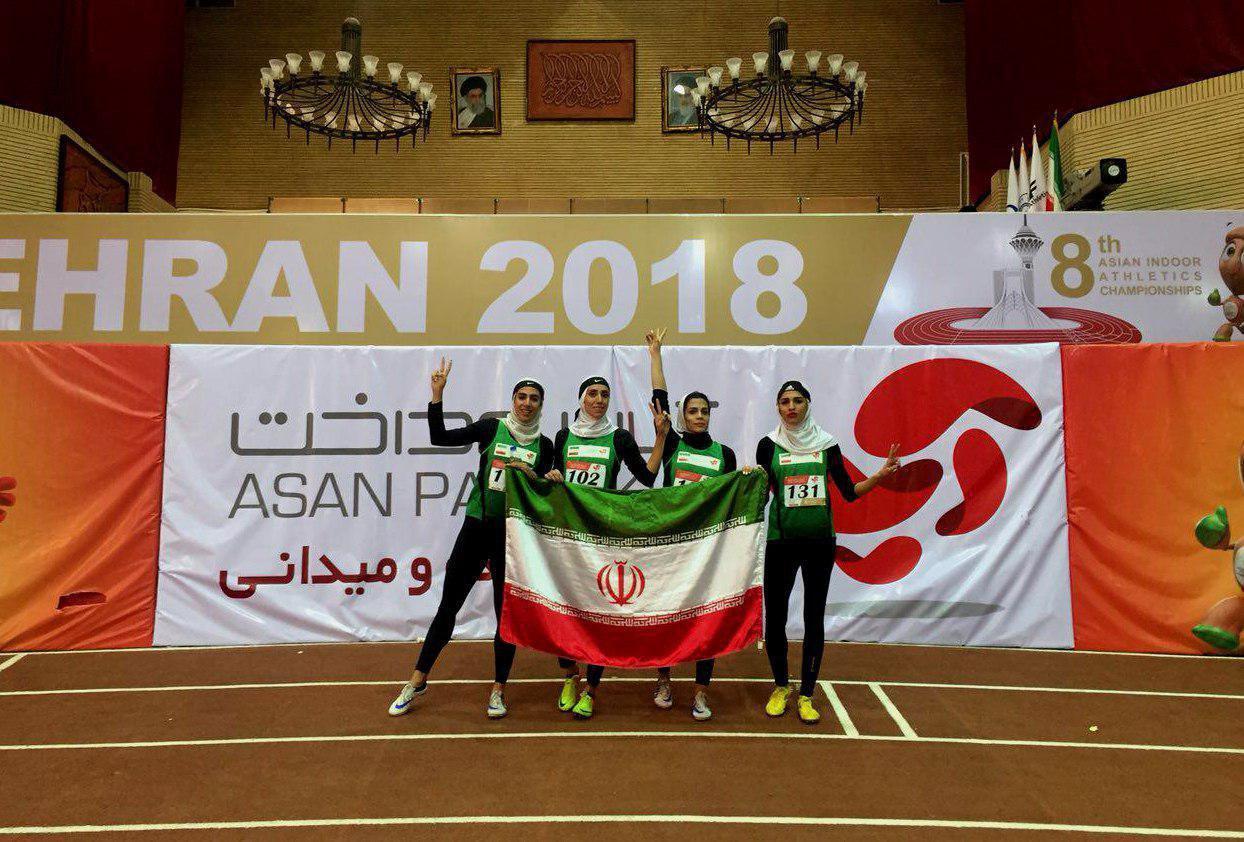 پایان شیرین ایران با طلای سپیده و نایب قهرمانی آسیا
