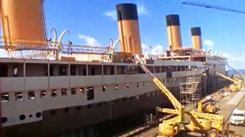 نحوه ساخت کامل کشتی به صورت تایم لپس