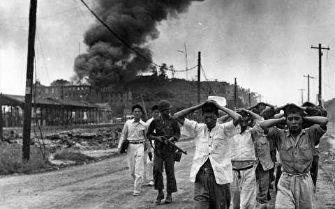 سربازان بریتانیایی در پایتخت کره شمالی