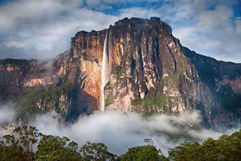 آنخل، بلندترین آبشار جهان