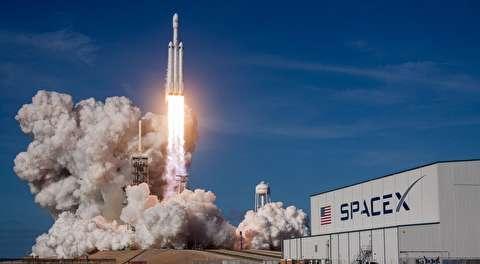 پرتاب بزرگترین موشک دنیا به فضا