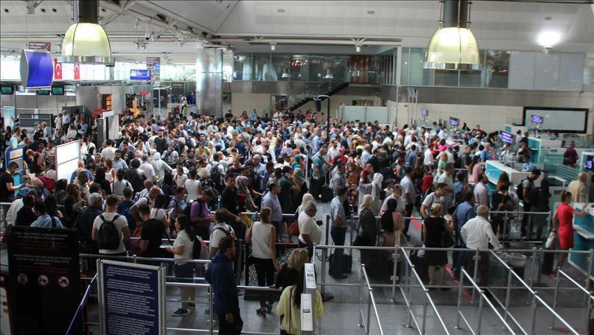 ثبت رکوردی جدید توسط فرودگاههای ترکیه