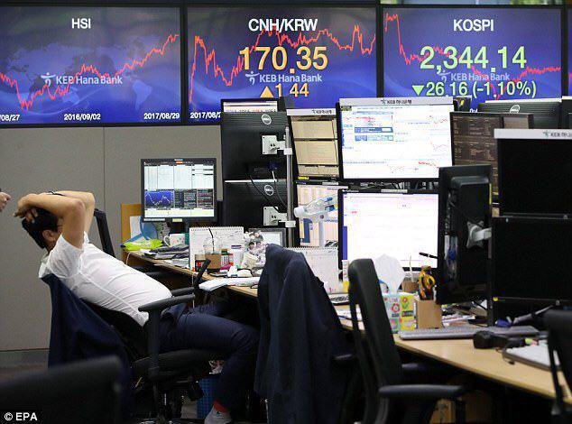 ادامهی دومینوی کاهش ارزش سهام در بازارهای بین المللی
