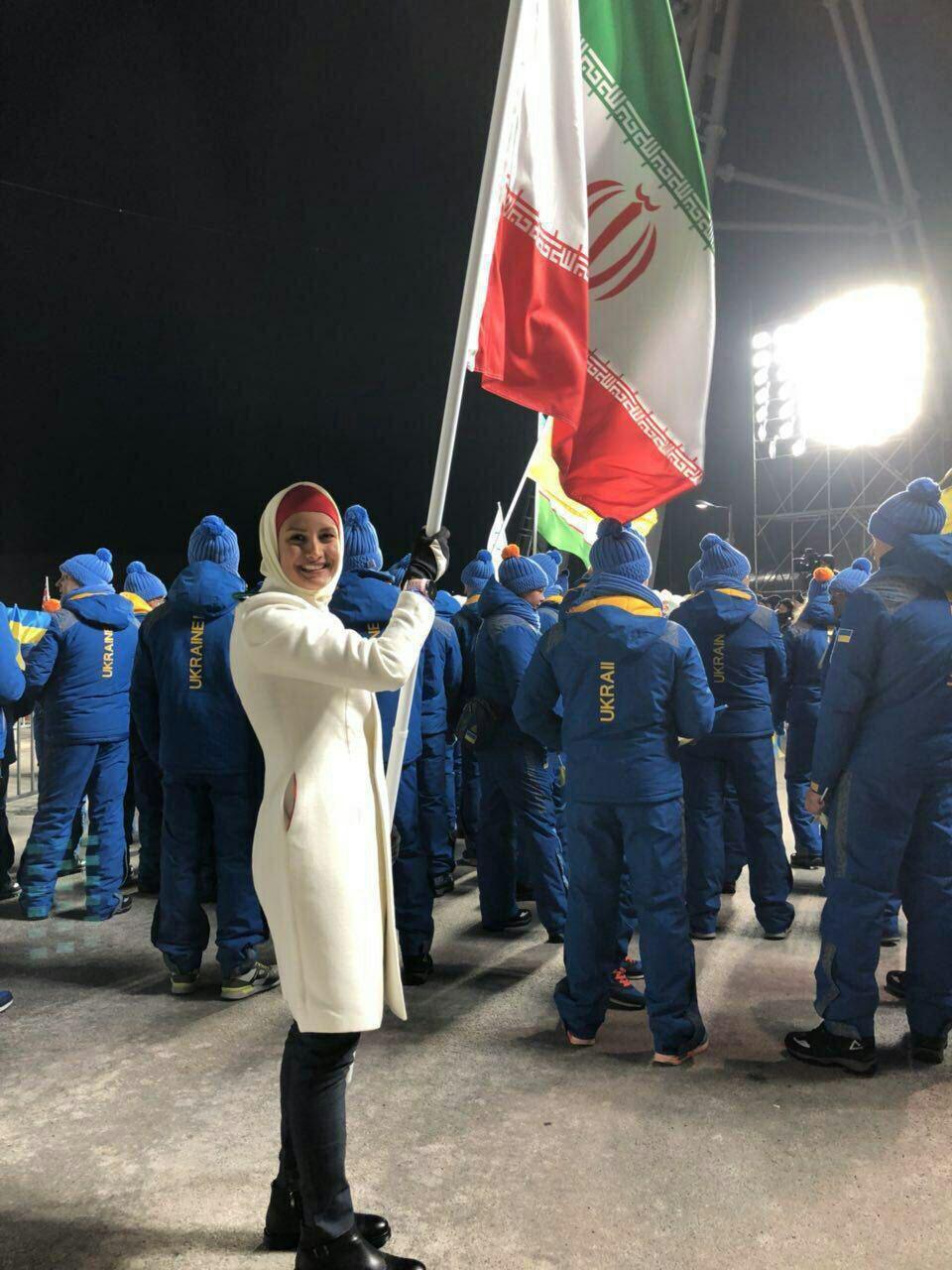 پرچمدار ایران در بازیهای المپيك زمستانی