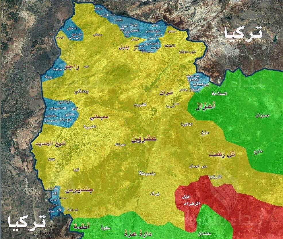 احتمال همکاری اطلاعاتی آمریکا با ایران و روسیه/راهکار فرانسه برای توسعه روابط با ایران بدون مزاحمت آمریکا/پایان حضور داعش در استان های حماه و حلب/استقرار نیروهای جدید ترکیه در اطراف عفرین سوریه