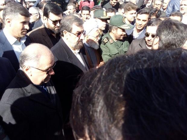 حضور محسن رضایی در جمع مردم زنجان