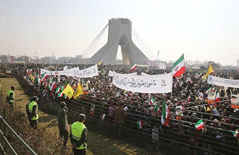 حماسه تماشایی ملت ایران در سراسر کشور