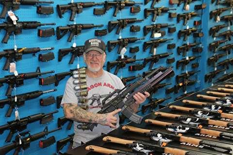 مسلحترین مرد آمریکا