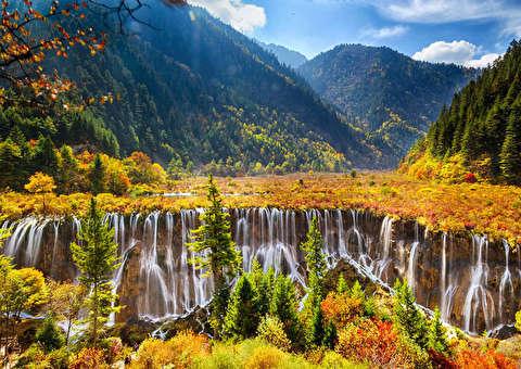 طبیعت چین از نمای نزدیک