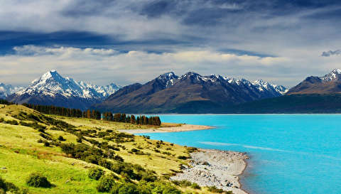 گردش در طبیعت نیوزلند