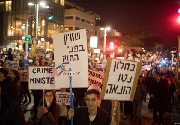 نتانیاهو در معرض اتهام دریافت رشوه