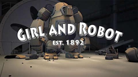 انیمیشن کوتاه دختر و ربات