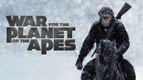 پشت صحنه جنگ برای سیاره میمونها