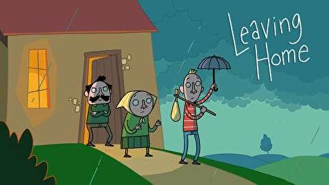 انیمیشن کوتاه ترک کردن خانه