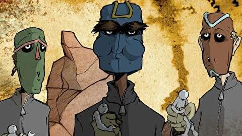 انیمیشن کوتاه نقابها