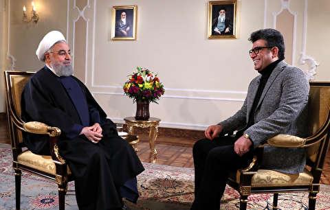 سخنان روحانی درباره دلار و زلزله
