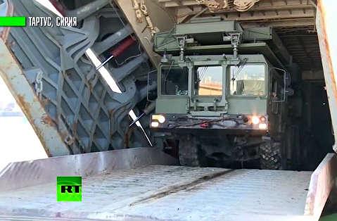 استقرار اس 400 روسیه در سوریه
