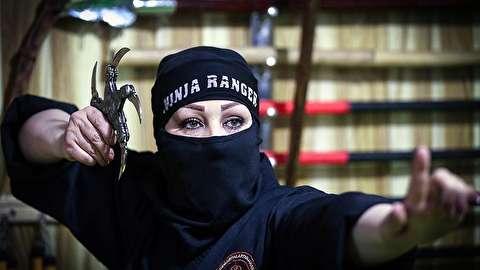 تمرینات عجیب نینجاهای مرموز ایران