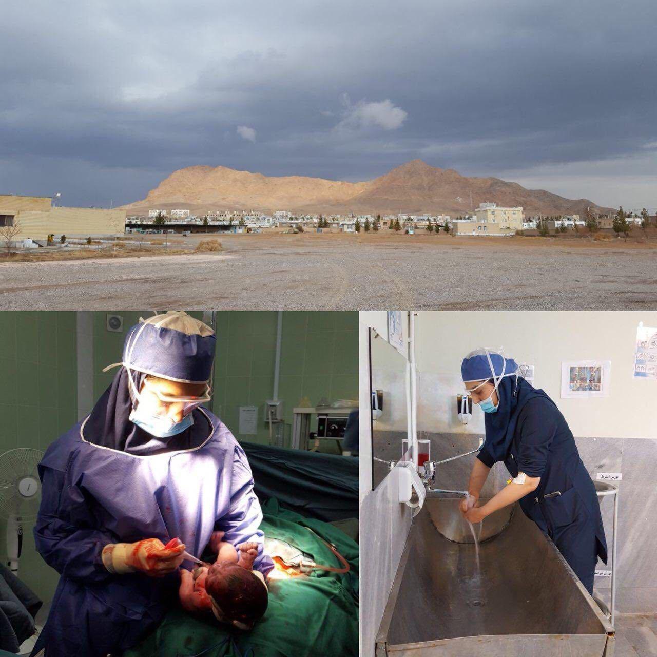کار تحسین برانگیز یک پزشک زن در بجستان