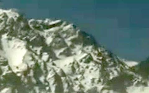 تصویر محل دقیق سقوط هواپیما ای تیآر