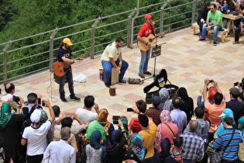 چالش موسیقی خیابانی در ایران