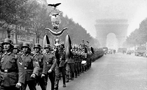 تصاویر مخفیانه از پاریس تحت اشغال آلمان