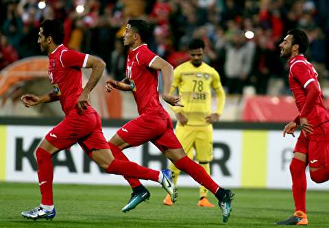 گزیده بازی پرسپولیس - الوصل امارات