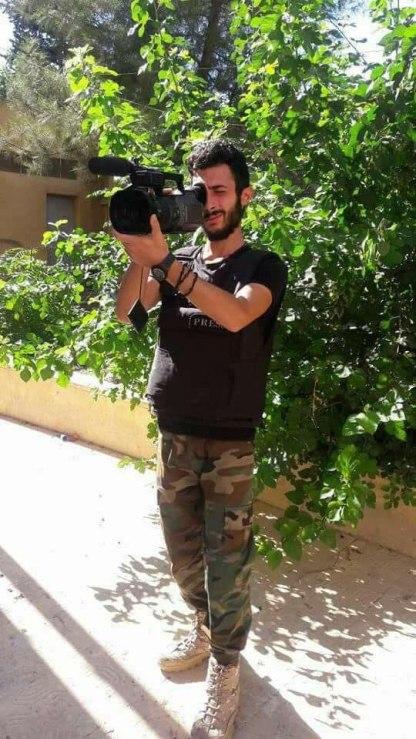 شهادت تصویربردار العالم در حومه حلب