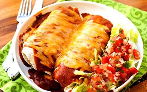 طرز تهیه بوریتوی نرم مکزیکی