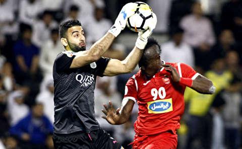 گزیده بازی السد قطر - پرسپولیس