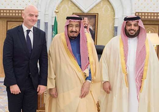 فیفا،عربستان رابه اخراج ازجام جهانی تهدیدکرد