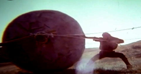 برشهایی از فیلم سفر سنگ