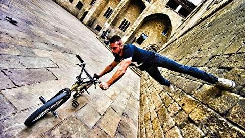دوچرخه سواری پارکور